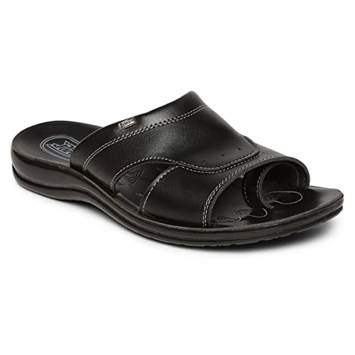 fdea5e428107 PARAGON Vertex Men s Black Flip-Flops  Buy Online at Low Prices in India -  Amazon.in