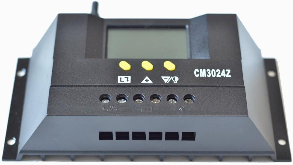Contr/ôleur de charge solaire Anancooler 60/A 80/A Charge solaire R/égulateur de batterie 12/V//24/V Panneau contr/ôleur de charge de batterie 80I