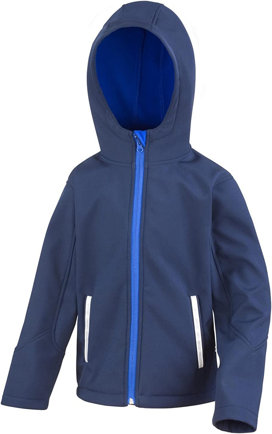 Result Childrens R224j Kt Core Tx Performance Hooded Softshell Jacket