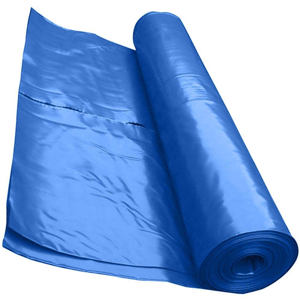 Heavy Duty Polythene Plastic Sheeting DPM DPC Damp proof Membrane 4 Metre x 5 Metre 250mu or 300mu - BBA (250MU, BLACK) CAPITAL MEMBRANE
