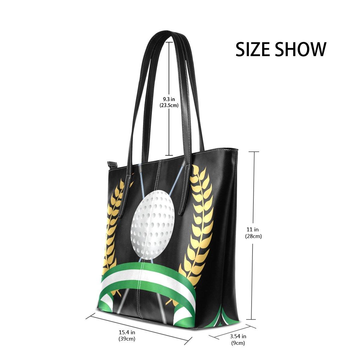 Amazon.com: deyya palos de golf piel sintética de impresión ...