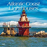 Atlantic Coast Lighthouses 2019 12 x 12 Inch Monthly Square Wall Calendar, USA United States of America Scenic Nature Ocean Sea East (Multilingual Edition)