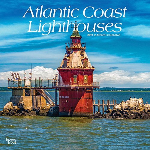 - Atlantic Coast Lighthouses 2019 12 x 12 Inch Monthly Square Wall Calendar, USA United States of America Scenic Nature Ocean Sea East (Multilingual Edition)
