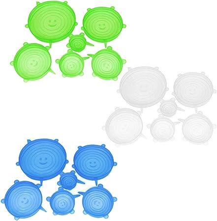 DAIRF Tapa de silicona para taza 3 unidades