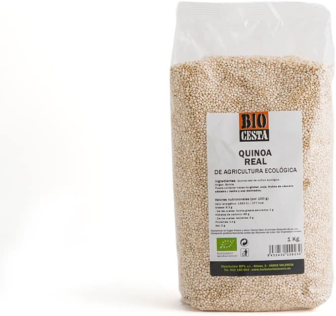 BIO CESTA - Quinoa Real 1K: Amazon.es: Salud y cuidado personal