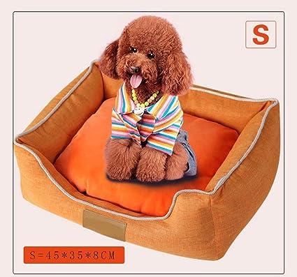 HenLooo Cama para Perros, Mascota, Perrera Grande, Cuatro Estaciones, Alfombra para Mascotas