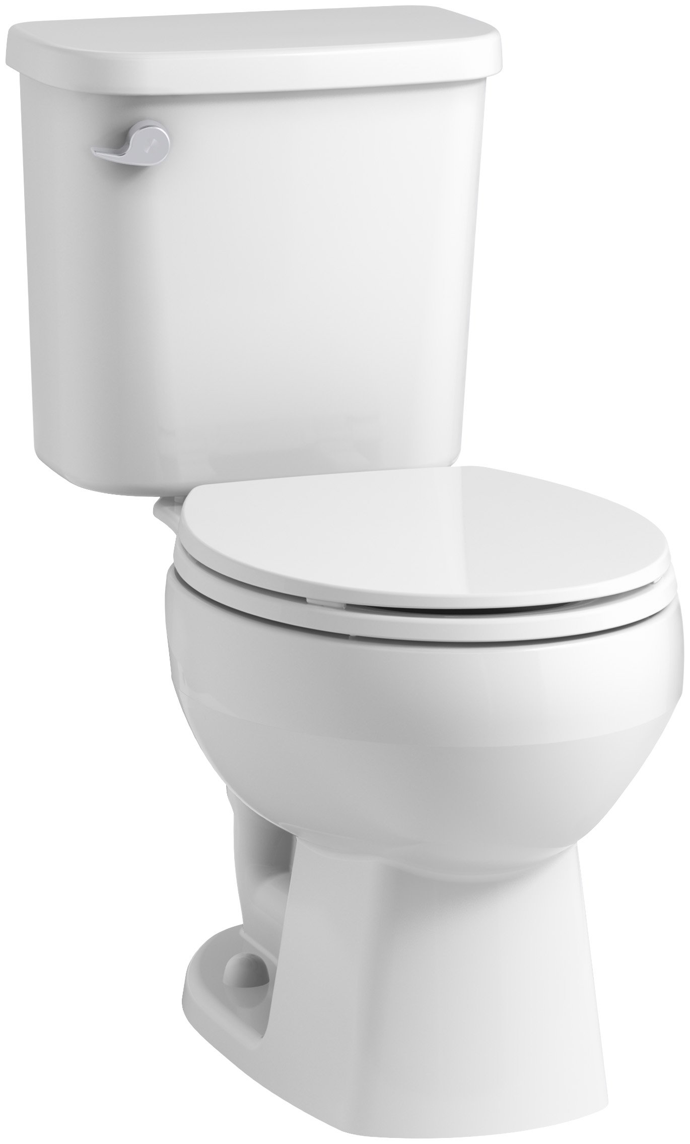 STERLING 403080-0 Windham 12 In. Rough-In Round Front Toilet with Pro Force Technology and Left-Hand Trip Lever, White