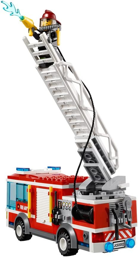 LEGO City - Camión de Bomberos (60002): Amazon.es: Juguetes y juegos
