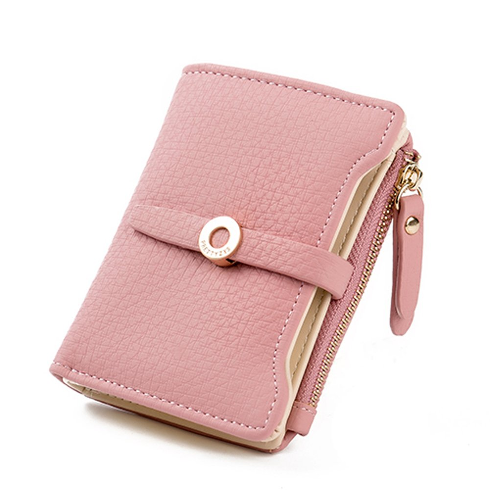 8e649247fb3b5 Nawoshow Women Cute Small Wallet PU Leather Girls Change Clasp Purse Card  Holders Coin Purse (Blue)  Amazon.co.uk  Luggage