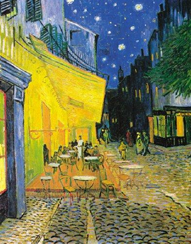 Postcard Cafe (Vincent Van Gogh Pavement Cafe at Night Decorative Fine Art 11x14 Inch Postcard Poster Print (unframed 11 x 14))