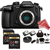 Panasonic Lumix DC-GH5 Mirrorless Digital Camera DigitalAndMore BUNDLE