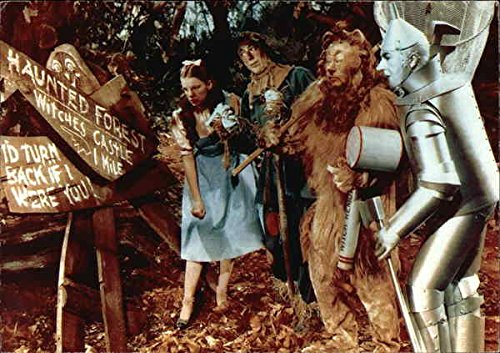 [Vintage Advertising Postcard: The Wizard of Oz - Haunted Forest Modern 1970's to Present] (Haunted Forest Wizard Of Oz)