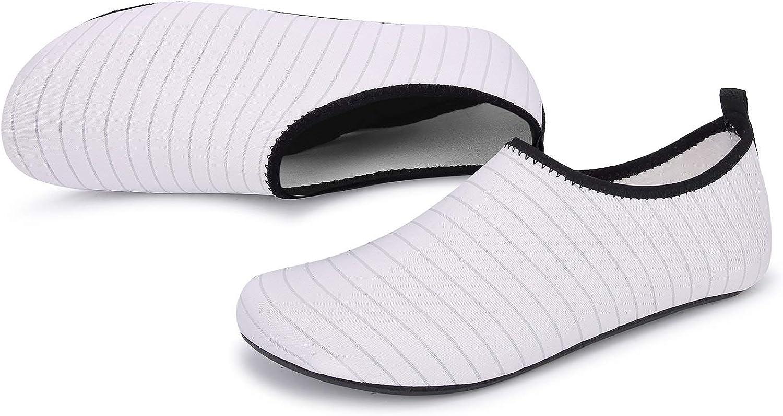 OUSIMEN Zapatos de Agua Hombre Mujer Zapatillas Ligeros de Secado R/ápido para Swim Beach Surf Yoga