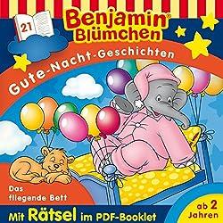 Das fliegende Bett (Benjamin Blümchen Gute-Nacht-Geschichten 21)