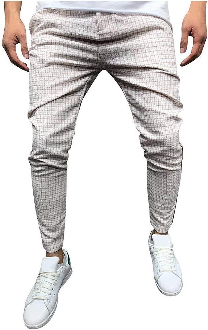 Geilisungren Pantalones para Hombre Pantalones Largos para Hombre ...
