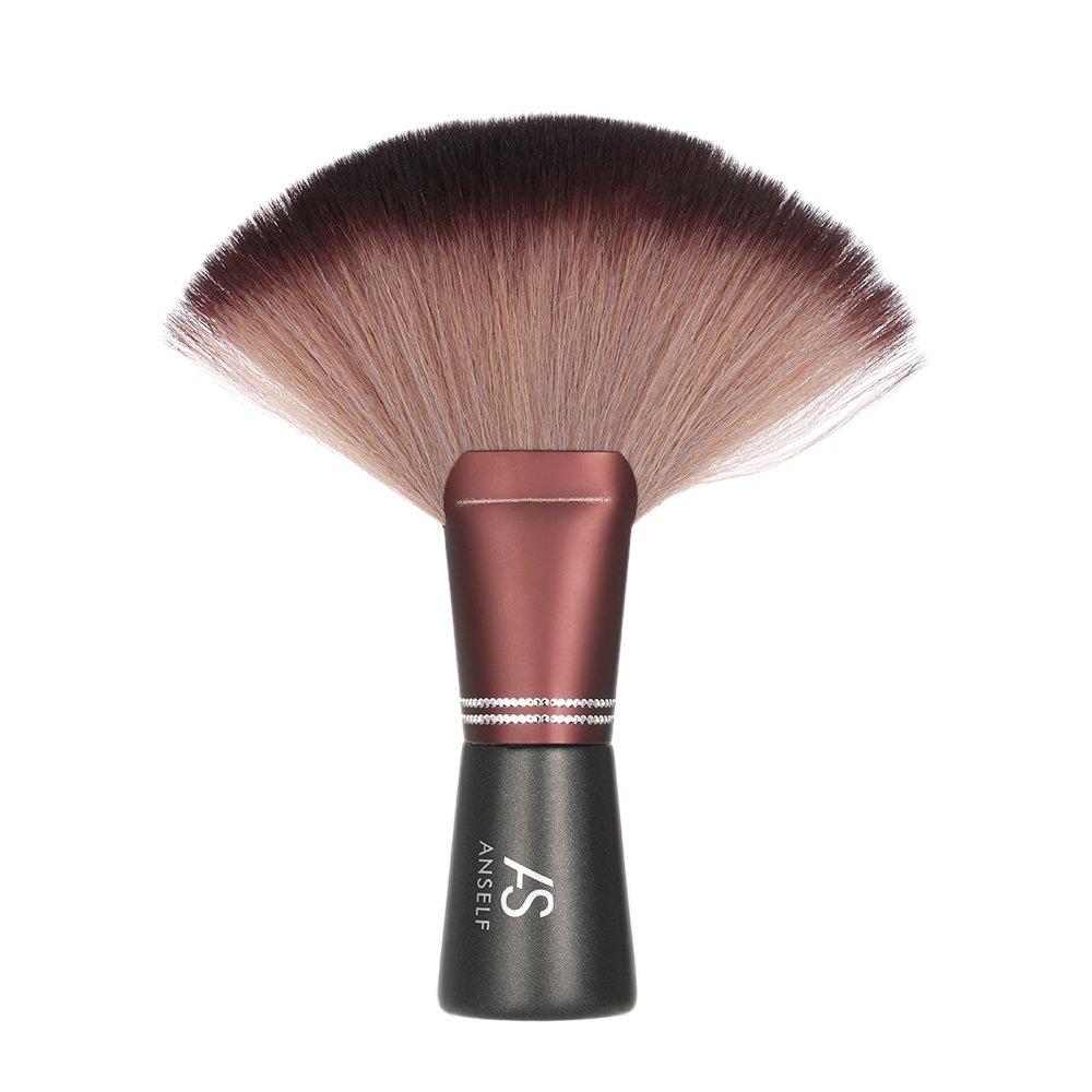 Anself - Pro Cepillo plumero cuello de corte de cabello y barbero para peluquería de salón