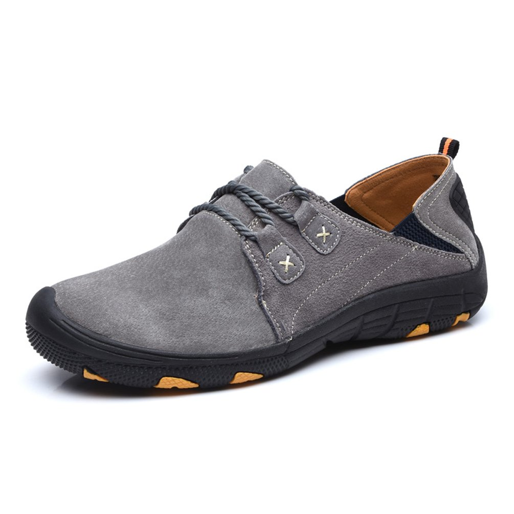 SUNROLAN Men's Hiking Shoes Outdoor Trekking Climbing Running Fashion Sneakers Sport Athietic Fitness