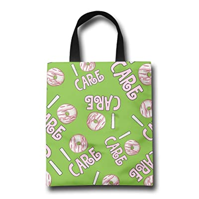 YTjzd Bag I-Donut-Care Strong Tote Bags Large Capacity Eco Friendly Tote Bags Market Bags With Straps