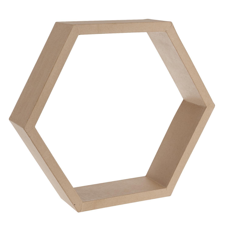 efco Papp-Rahmen Sechseck Höhe 36,5 cm: Amazon.de: Spielzeug