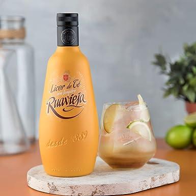Licor Ruavieja Licor de Té con Jengibre 70cl: Amazon.es: Alimentación y bebidas