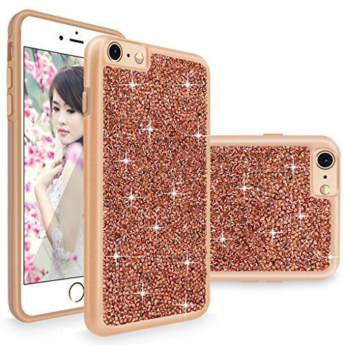 Rhinestone Iphone (iPhone 6 Plus, iPhone 6S Plus Case, Cellularvilla [Dual Layer Protective ] Luxury Bling Jewel Rock Crystal Rhinestone Diamond Case Cover for Apple iPhone 6 Plus / 6S Plus 5.5)