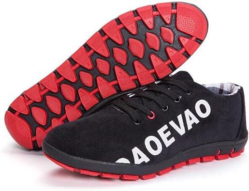 Zapatillas De Running Hombre De Tela Respirable Cómodo con ...