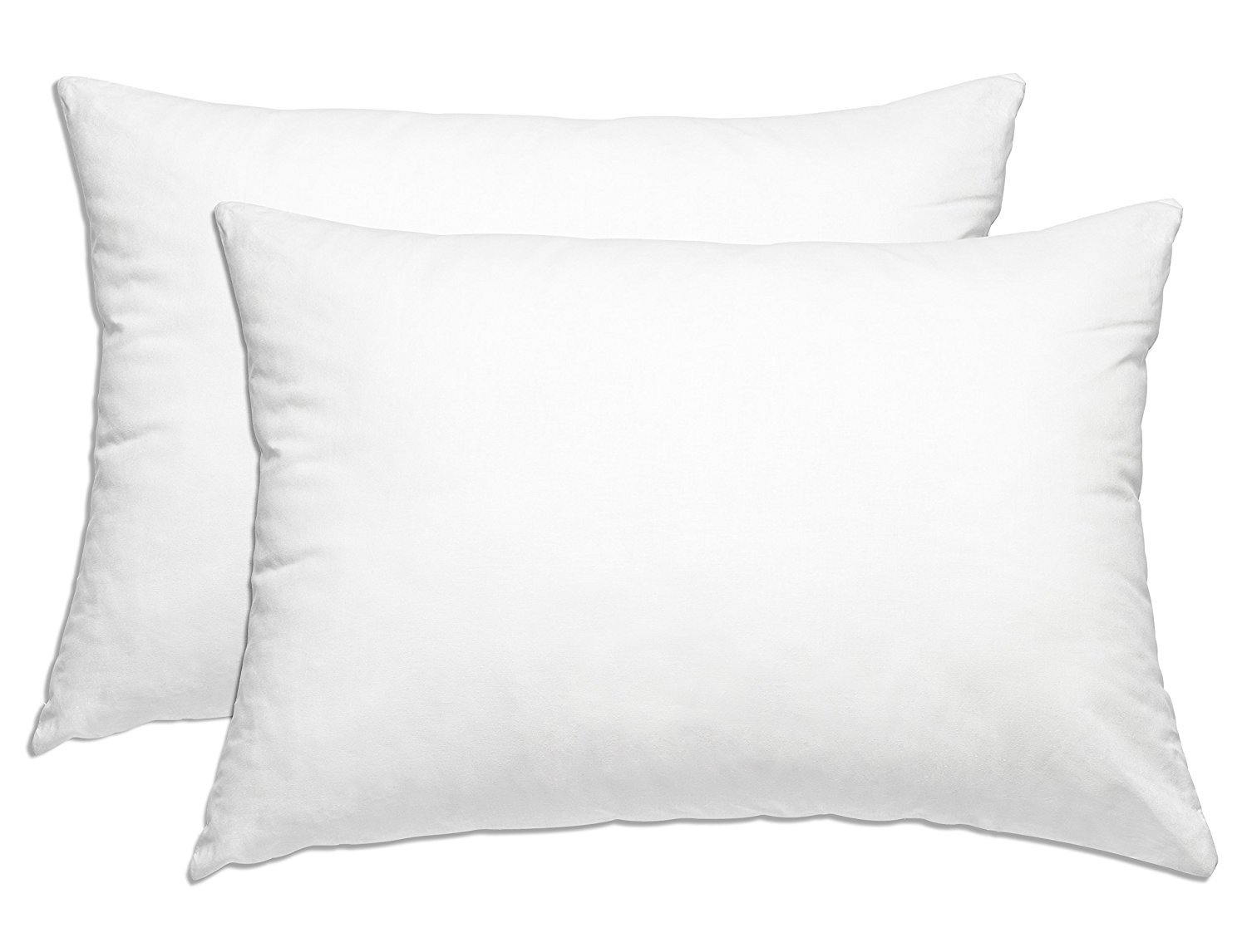 SmartHome Bedding 2-Pack Hotel Collection Plush Pillow - Down Alternative Pillows, Queen
