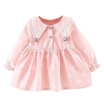 eae69eb940859 Yochyan 子供 女の子 キッズドレス 子供服 ドレス フォーマルドレス 可愛い キュート ワンピース 長袖 ロングスリーブ