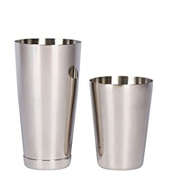 Favson Boston Shaker de acero inoxidable: 2 piezas Set: 20 ...