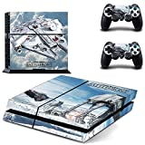 Beyone PS4 Designer Skin for Sony Playstation 4 Console System Plus Two(2) Decals For: PS4 Dualshock Controller -Star War
