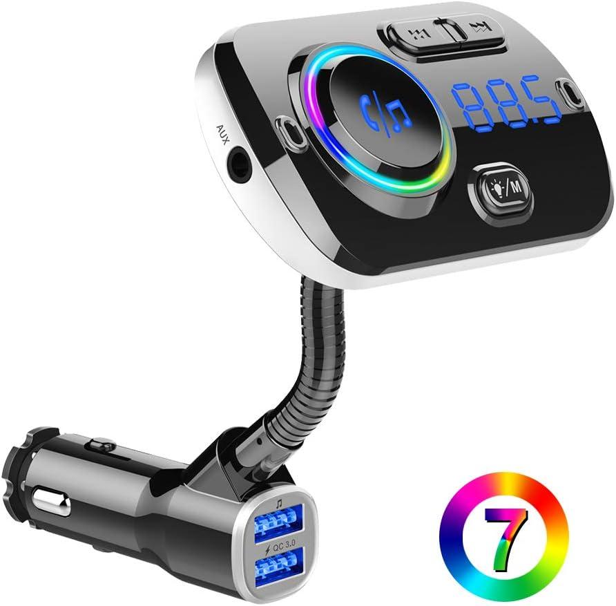 Btmagic Bluetooth Fm Transmitter Bc49aq Fürs Auto Computer Zubehör