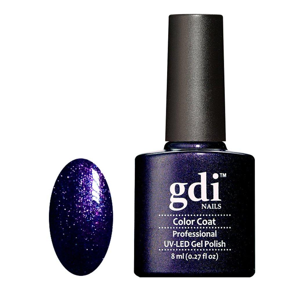 R26 Purple Black with Blue Fine Glitter Gel Polish |GDI Nails ...