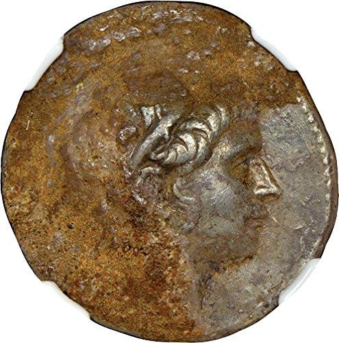 GR 222-187 BC Ancient Seleucid Empire Antiochus III the Great Antique Silver Coin Rare Coins AR Tetradrachm Very Fine NGC ()