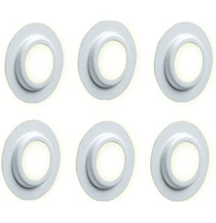 Lamp Shade Ring 4 x lampshade ring reducer converter amazon kitchen home x6 lamp shade ring adaptor converter reducer metal adaptors audiocablefo