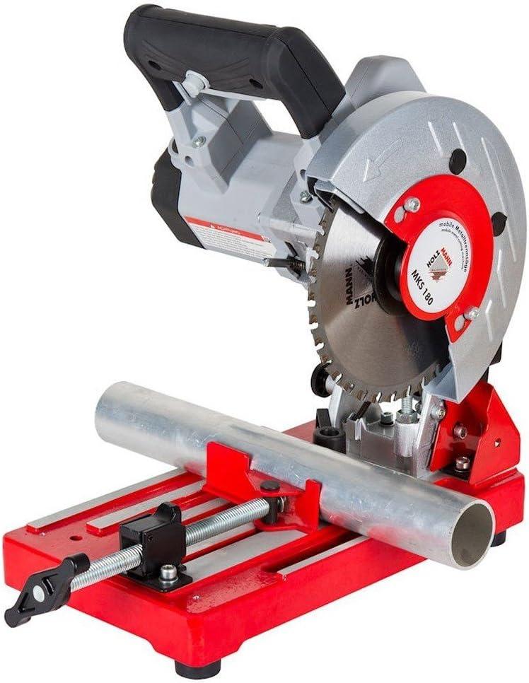 Holzmann Maschinen - Tronzadora portátil para metales MKS 180H020450004de 1280W. Diámetro: 180x 20mm