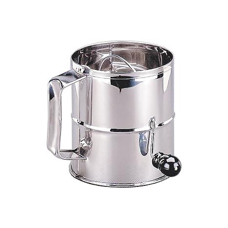 Amazon.com: adcraft S/S Tamizador de harina W/Mango ...