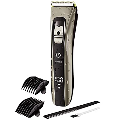 Yiduore All-in-One Beard Trimmer for Men, Head to Toe Lithium Powered Body Groomer Kit (5 Pieces): Home & Kitchen