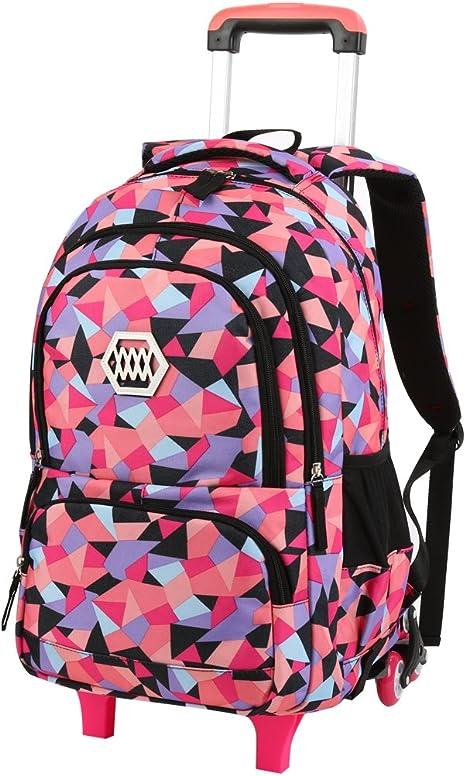 Fanspack Cartable Fille Sac Fille Sac Ecole Fille 2019 Nouveau Sac a Dos Fille Sac College Fille Sac Primaire Fille en Nylon