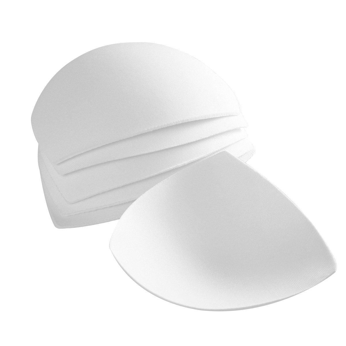 Tinksky Womens Removable Smart Cups Bra Inserts Pads For Swimwear Sports 3 Pair (White) I21558123KIXA5132