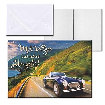 Cartolini Aufklappkarte Karte Spruche Zitate Briefumschlag