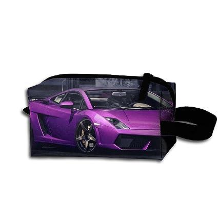 Lamborghini Monedero Morado Bolsa Lápiz Portátil PTuOkiXZ