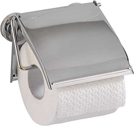 Chrom WENKO Toilettenpapierhalter TURBO-LOC