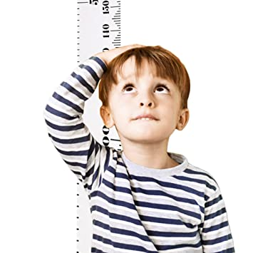 Amazon Baby Growth Chart Ruler Child Height Canvas Wall Decal