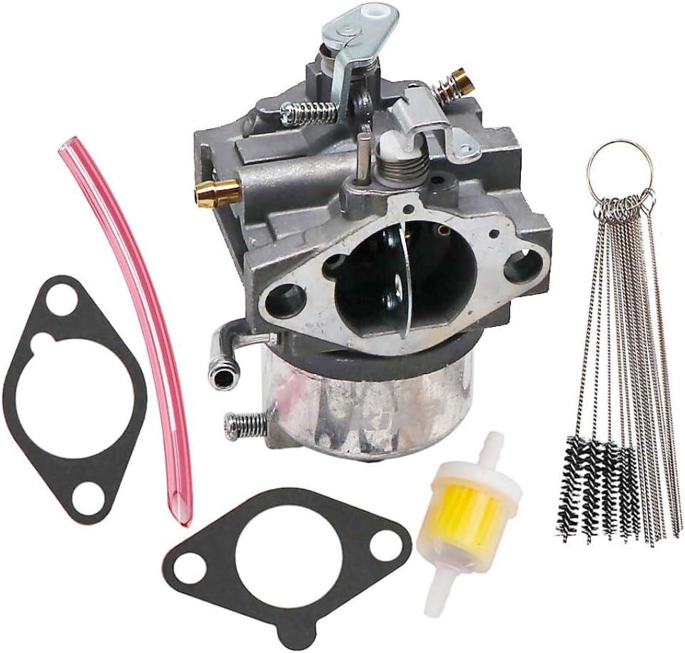KIPA Carburetor for Kawasaki 15003-2796 FB460V-AS38 FB460V-MS08 Engines with Gaskets Carbon Dirt Jet Cleaner Tool Kit Fuel Filter