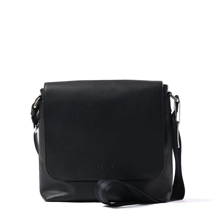 Amazon.com  Coach Men s Charles Small Messenger Bag Black Leather  Shoes d424e430ce96b