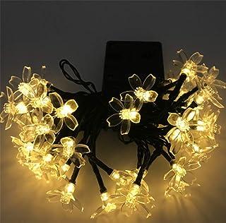 QGGL Stringa Leggera LED Energia Solare Lampada a Fili di Rame Luce Paesaggio Festa di Natale Decorazione Interna All'aperto String Light Impermeabile