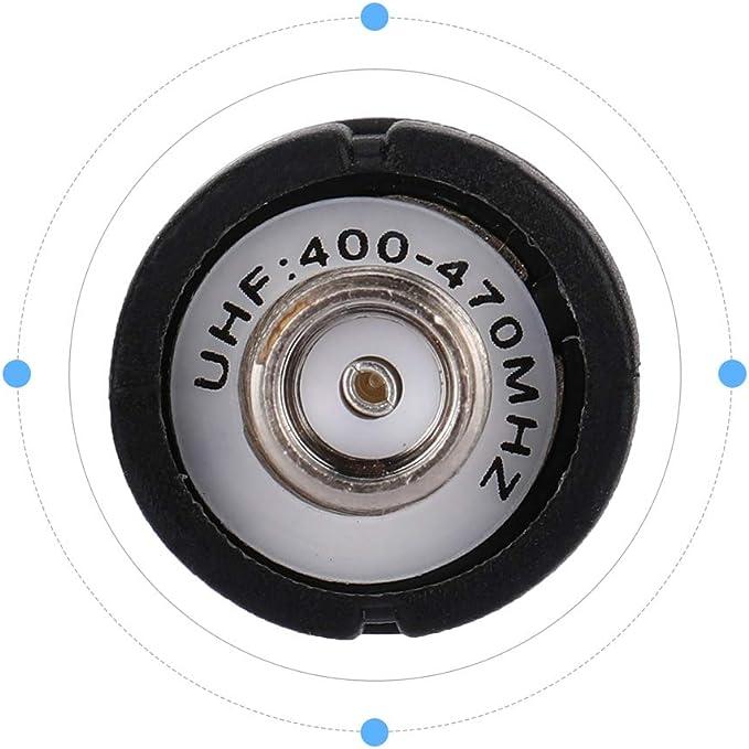Diyeeni Antena 10Pcs 144 / 430MHz Radio de Mano de Banda Dual Compatible con BaoFeng/Pofung, Antena Suave ampliamente Utilizada en Radio, Radio de ...