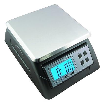 60433c04d335 Escali 136KP Alimento NSF Listed Digital Scale, 13 Lb / 6 Kg