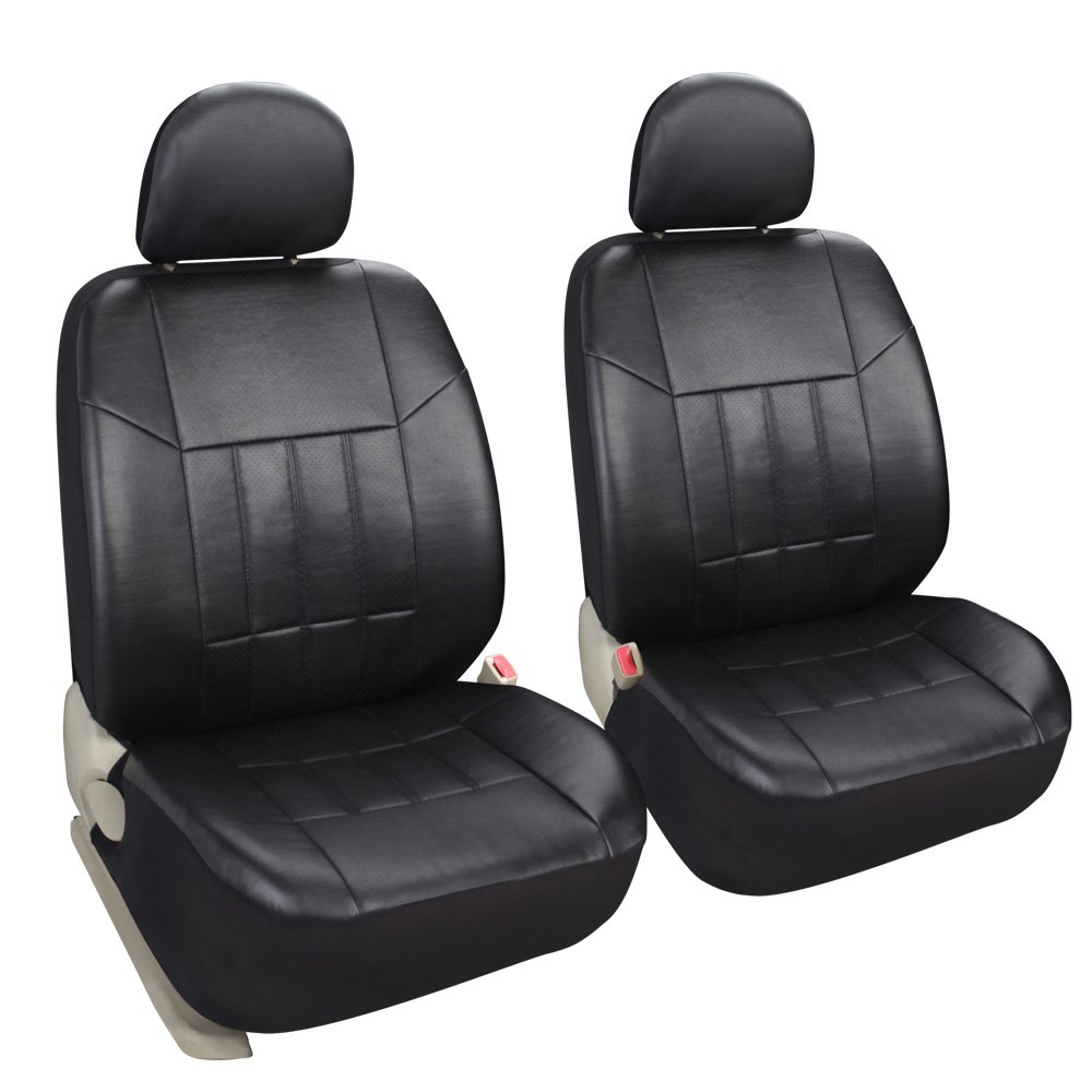 Leader Accessories Universal Fit Leather Seat Covers}