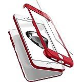 【Spigen】iPhone7 ケース, [ 360度保護ケース ] [ 衝撃 吸収 ] [ 超スリム 軽量 ] [ レンズ保護 ] [ ハードケース ] シン・フィット 360 アイフォン 7 用 カバー (iPhone7, レッド)